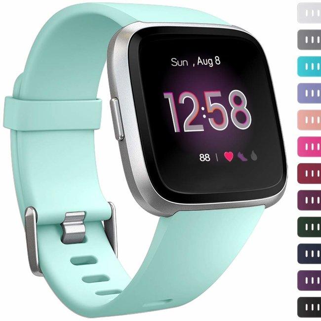 Marque 123watches Fitbit versa sport sangle - menthe