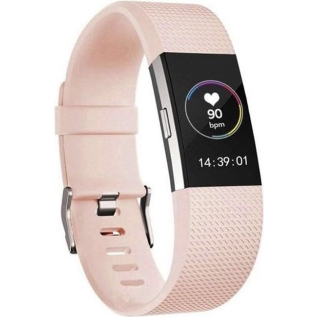 Marque 123watches Fitbit charge 2 bracelet sportif  - rose