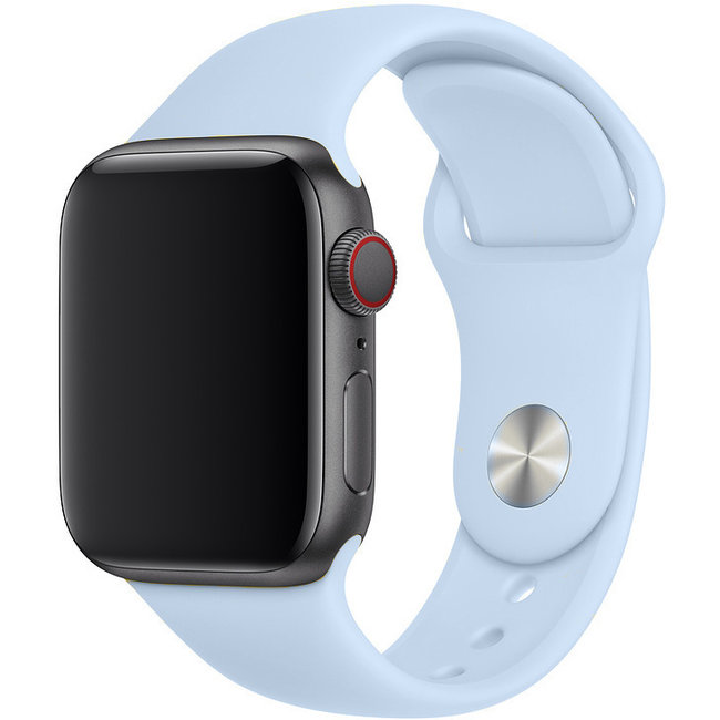 Marque 123watches Apple Watch sport sangle - sky blue
