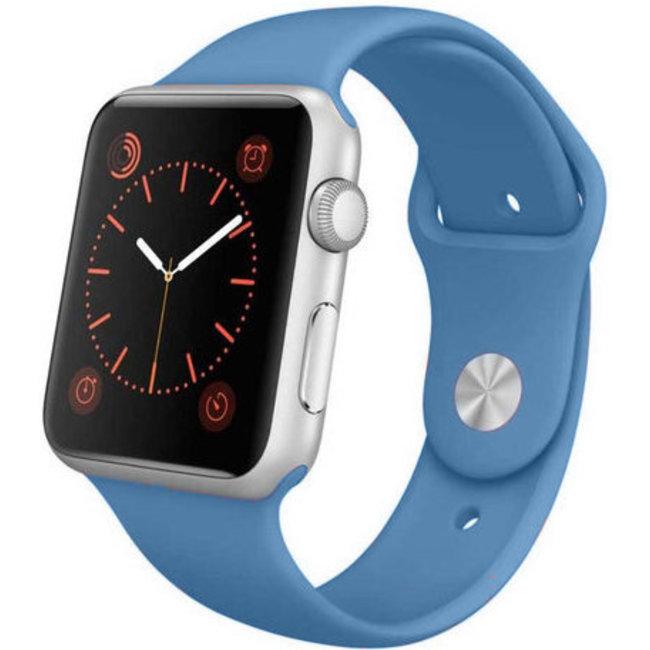 Marque 123watches Apple Watch sport sangle - denim blue