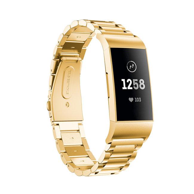 Marque 123watches Fitbit charge 3 & 4 des perles échantillons lien - or