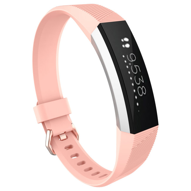 Marque 123watches Fitbit Alta sport sangle - rose
