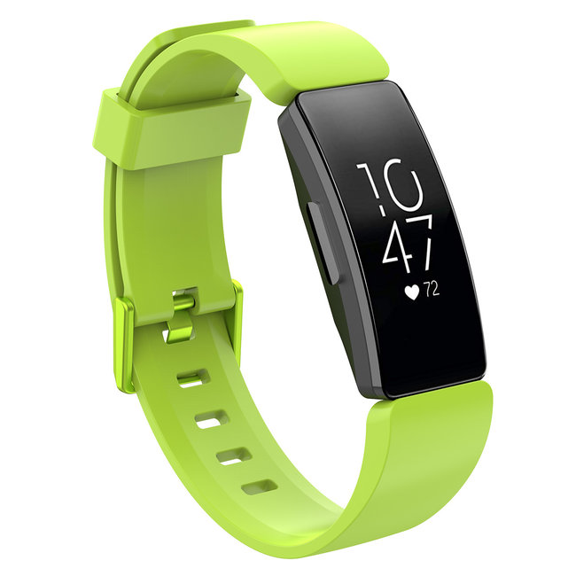 Marque 123watches Fitbit Inspire sport sangle - vert