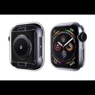 Marque 123watches Étui souple mince pour Apple Watch - transparent