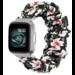 Marque 123watches Fitbit Versa Scrunchie Band - des fleurs
