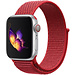 Marque 123watches Apple watch nylon sport loop band - rouge