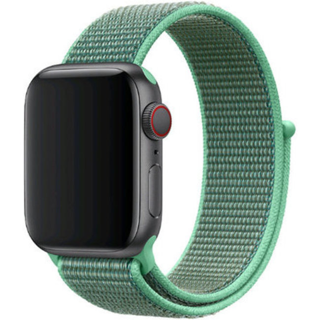 Marque 123watches Apple watch nylon sport loop band - menthe verte