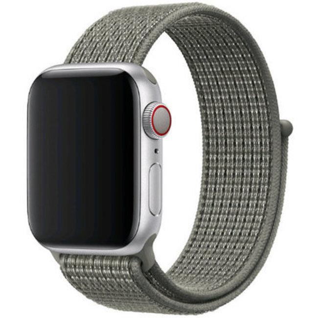 Marque 123watches Apple watch nylon sport loop band - brouillard d'épinette