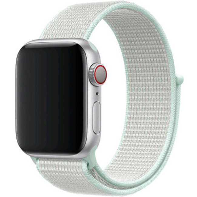 Marque 123watches Apple watch nylon sport loop band - teinte turquoise