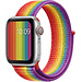 Marque 123watches Apple watch nylon sport loop band - coloré