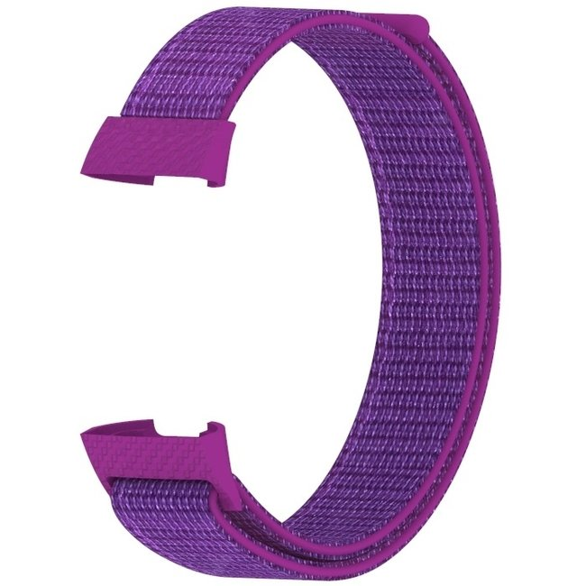 Marque 123watches Fitbit charge 3 & 4 nylon sport band - fruit du dragon