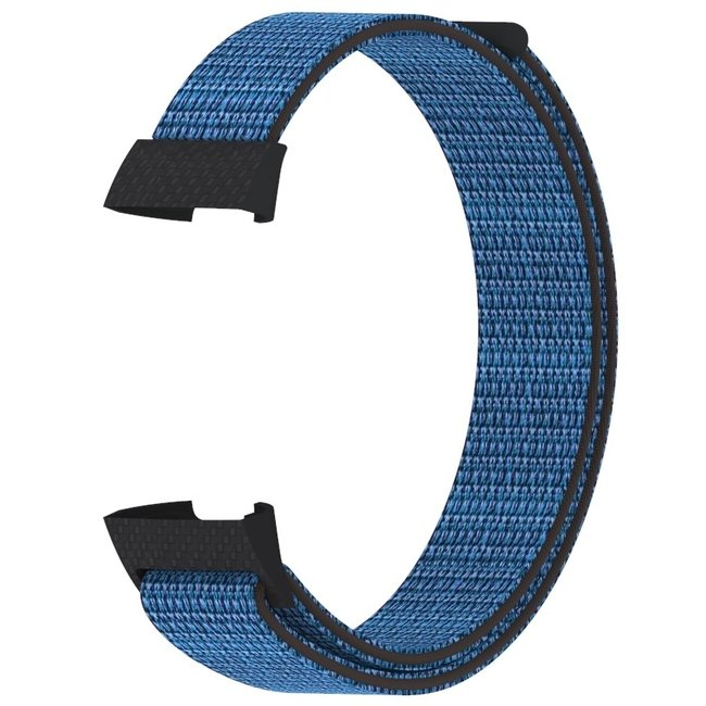 Marque 123watches Fitbit charge 3 & 4 nylon sport band - hyper raisin