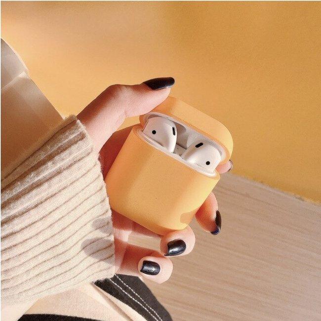 Coque Apple AirPods 1 & 2 étui rigide - orange