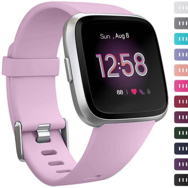 Marque 123watches Fitbit versa sport sangle - lilas