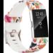 Marque 123watches Fitbit charge 2 print sport band - mélange de fleurs