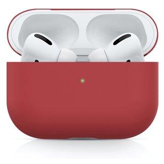 Marque 123watches Étui rigide solide Apple AirPods PRO - rouge