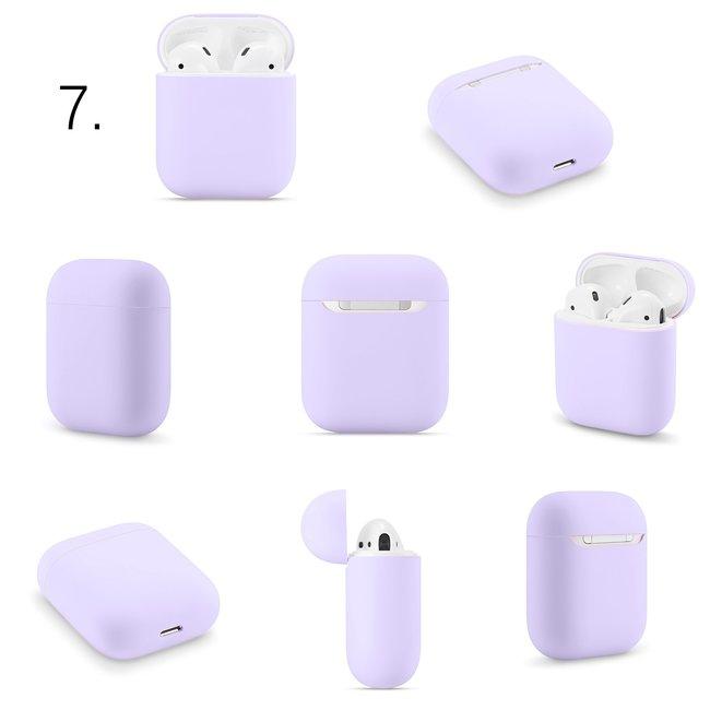 Étui rigide solide Apple AirPods 1 & 2 - violet