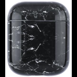 Marque 123watches Coque Souple Marbre Apple AirPods 1 & 2 - noir