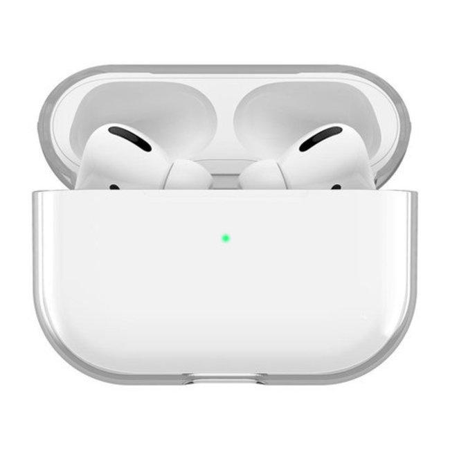 Coque Rigide Transparente Apple AirPods PRO - Transparente