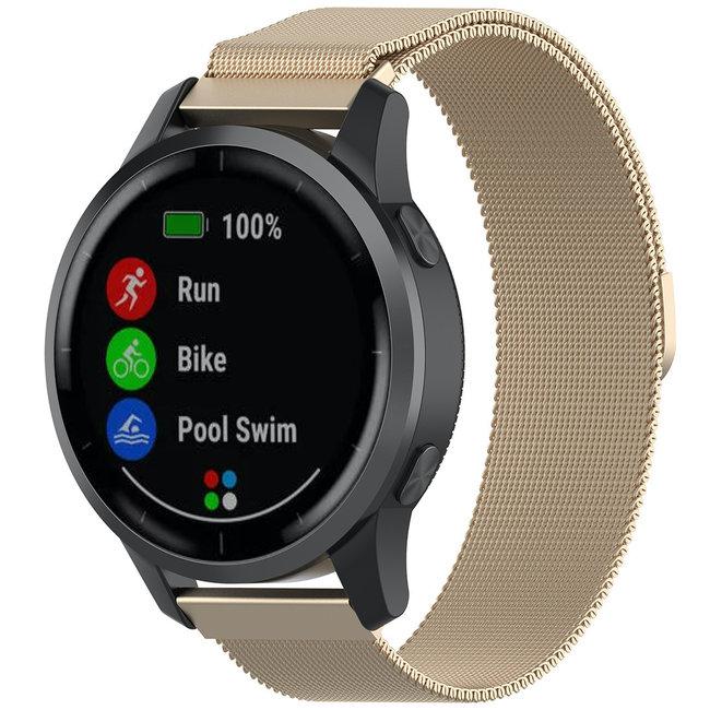 Marque 123watches Bracelet milanais Samsung Galaxy Watch - champagne