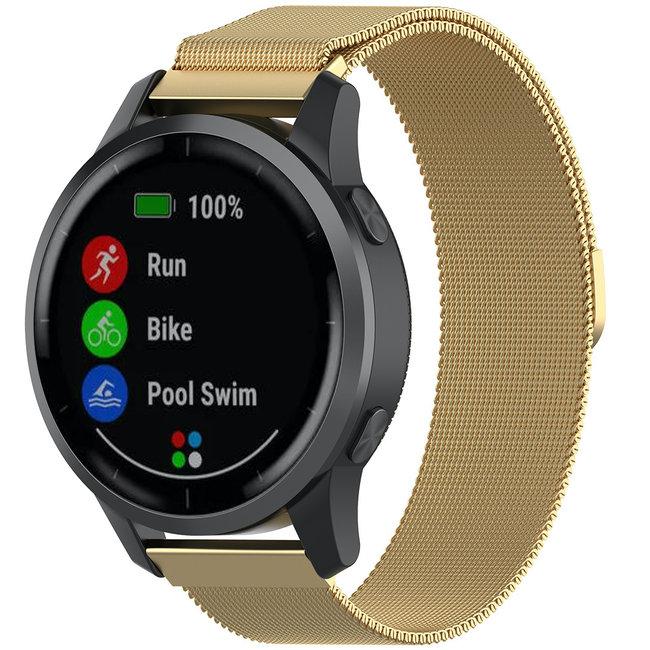 Bracelet milanais Samsung Galaxy Watch - or