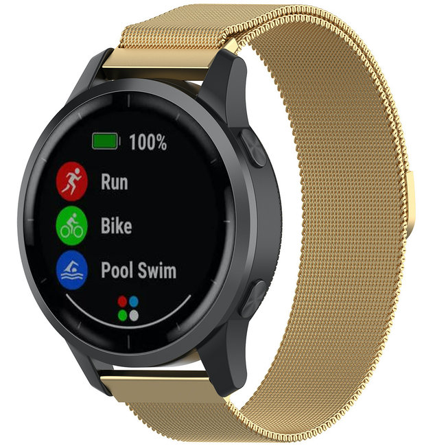 Marque 123watches Bracelet milanais Samsung Galaxy Watch - or