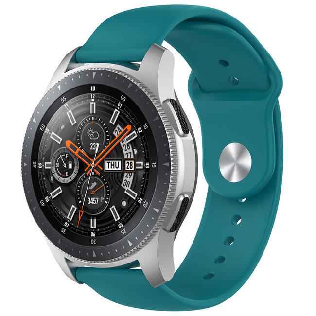 Bracelet en silicone Samsung Galaxy Watch - vert