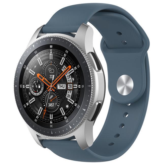 Marque 123watches Bracelet en silicone Samsung Galaxy Watch - ardoise