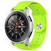 Marque 123watches Bracelet en silicone Samsung Galaxy Watch - citron vert