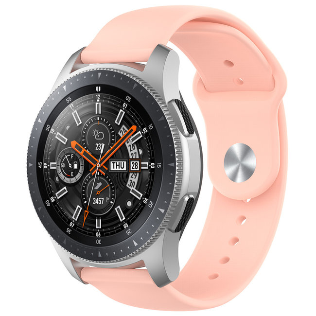 Bracelet en silicone Samsung Galaxy Watch - rose