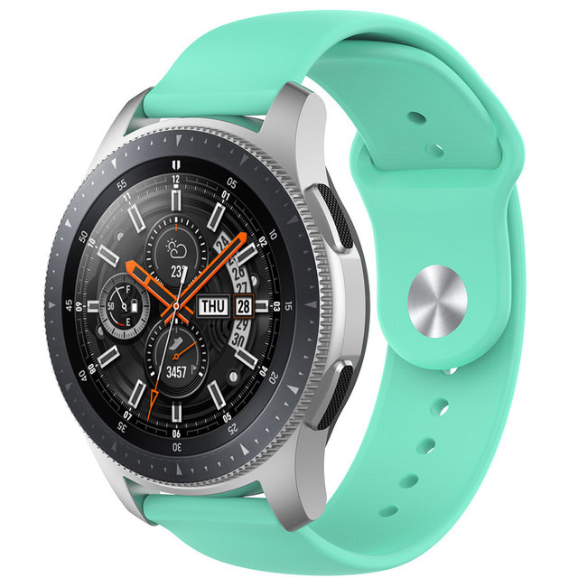 Marque 123watches Bracelet en silicone Samsung Galaxy Watch - bleu tahoe