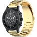 Marque 123watches Bracelet trois maillons en acier perles Huawei watch GT - or