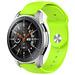 Marque 123watches Bracelet en silicone Polar Ignite - citron vert