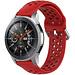 Marque 123watches Bracelet en boucle en silicone Polar Vantage M / Grit X - rouge