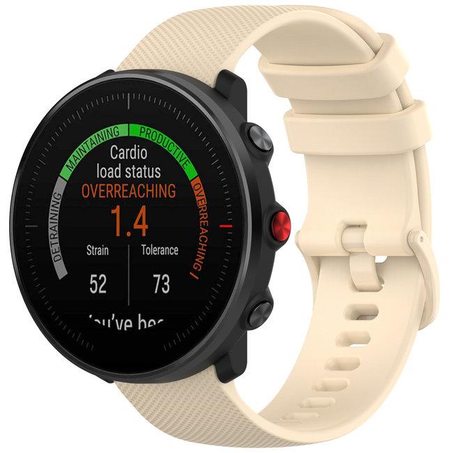 Marque 123watches Bracelet en boucle en silicone Polar Vantage M / Grit X - kaki
