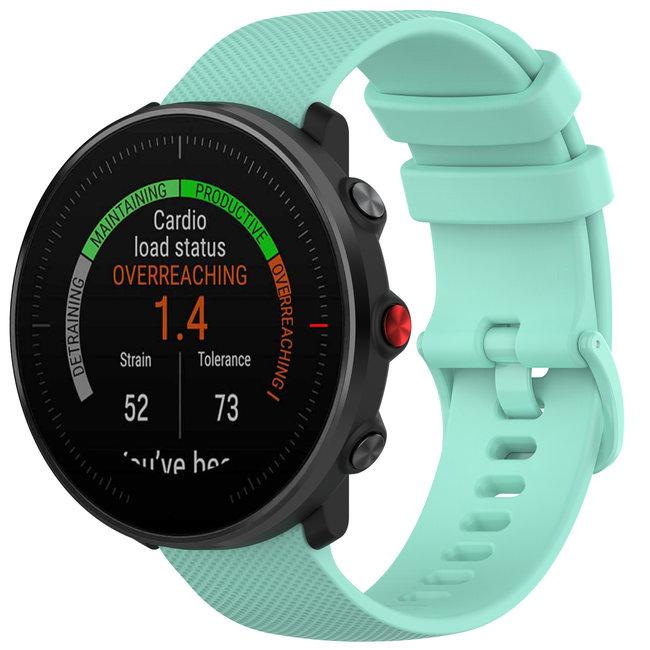 Marque 123watches Bracelet en boucle en silicone Polar Vantage M / Grit X - bleu tahoe