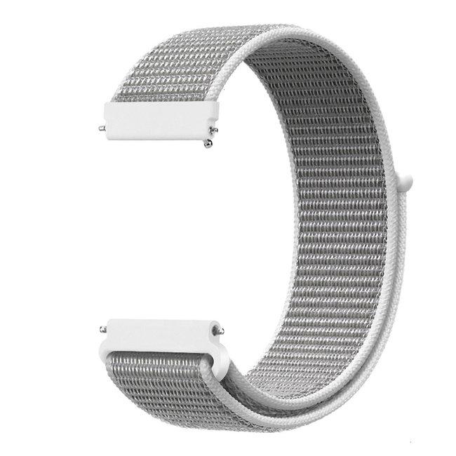 Marque 123watches Bracelet Sport en Nylon pour Polar Vantage M / Grit X - coquillage