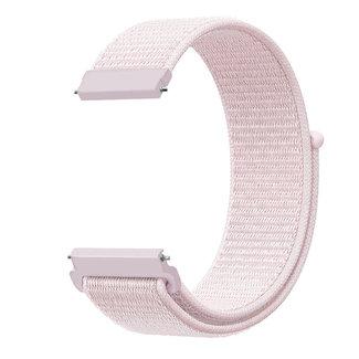 Marque 123watches Bracelet Sport en Nylon pour Polar Ignite - rose perle
