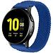 Marque 123watches Samsung Galaxy Watch orchestre solo tressé - bleu atlantique