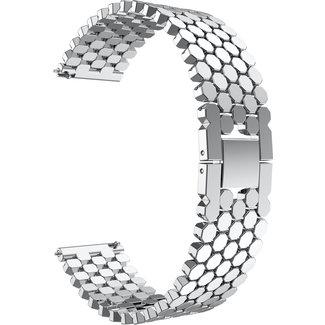 Marque 123watches Polar Vantage M / Grit X  Bracelet ˆ maillons en acier de poisson - Argent