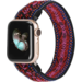 Marque 123watches Apple watch nylon band - bohème rouge