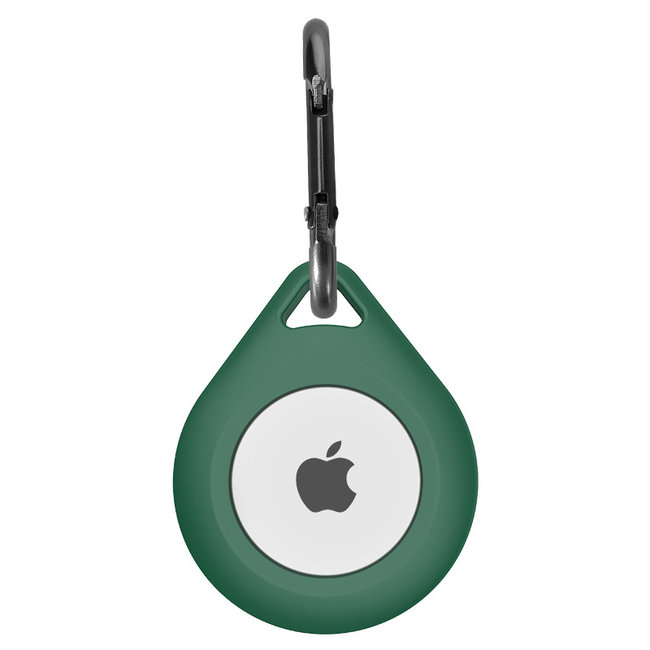 Marque 123watches AirTag silicone tomber porte-clés - vert