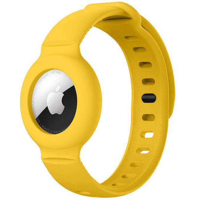 AirTag band - jaune