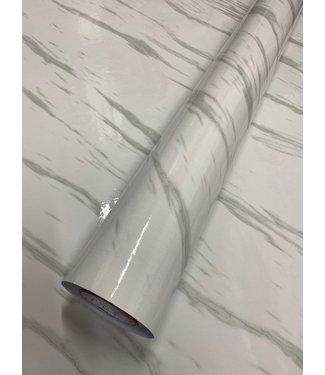 Marmer 11 grijs wit glans
