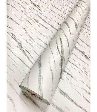 Marmer 12 mat wit grijs