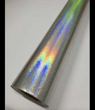 PREMIUMVINYLS 1 November op voorraad Premium Holographic Sand Point SIlver