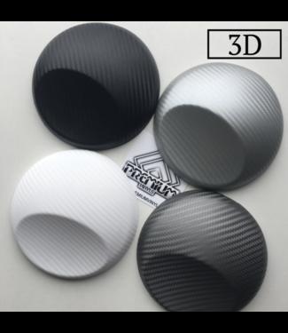 Budget folie Budget 3D Carbon Wrapfolies