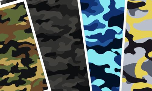 Camouflage Wrap Folies