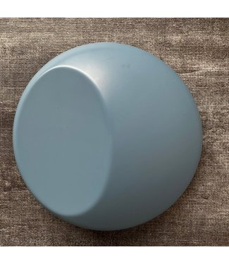 PREMIUMVINYLS Premium Mat Porselein Blauw