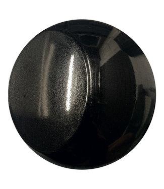 PREMIUMVINYLS Premium Glans Metallic Zwart